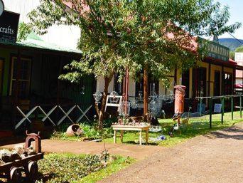Pilgrim's Rest, een oud mijnstadje aan de Zuid Afrikaanse Panorama Route.