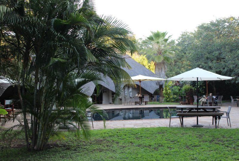 Bayete zwembad en tuin